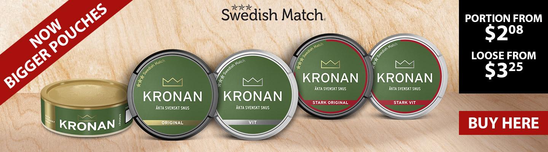 Buy Kronan snus