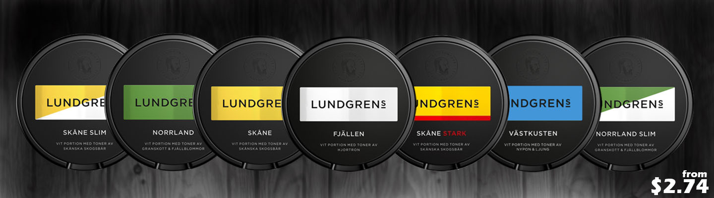 Lundgrens in now back in stock