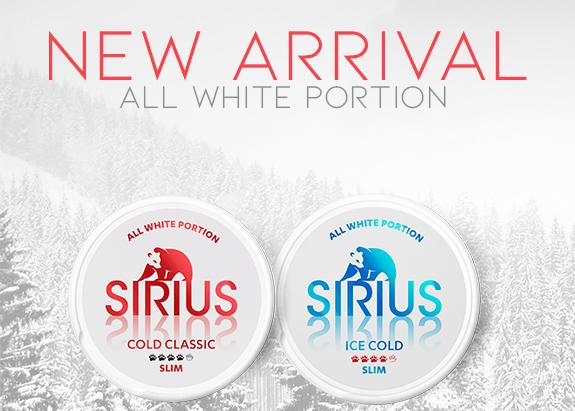 Buy new Sirius at Snus24