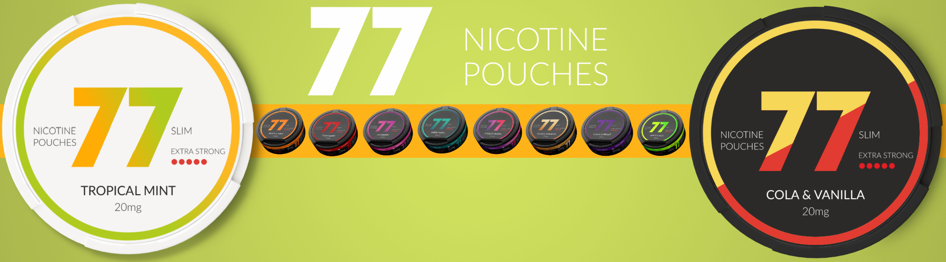 77 pouches at Snus24