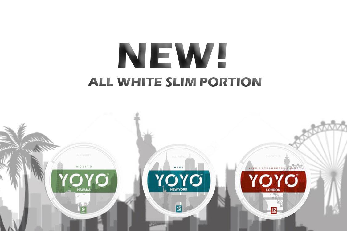 Buy YOYO nicotine pouches at snus24.com