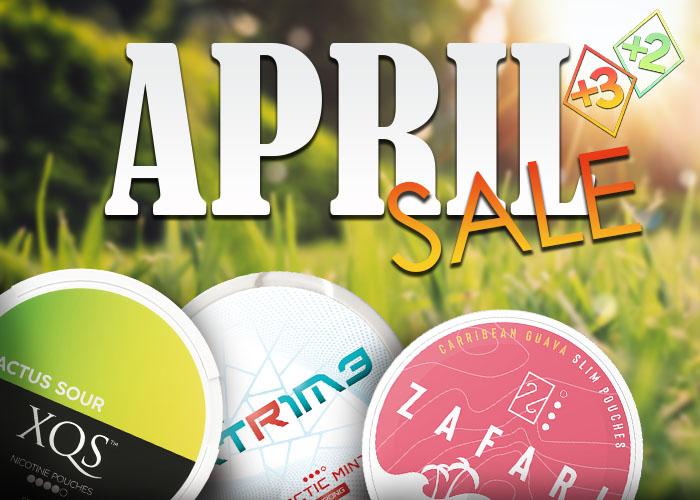 April Sale at Snus24