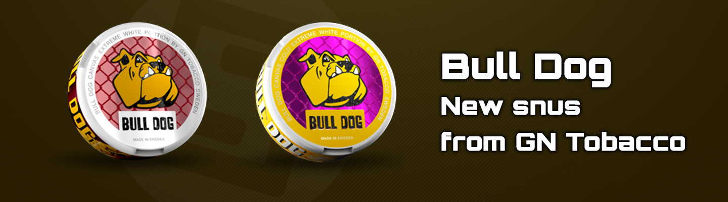 New snus Bull Dog Extreme