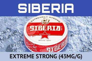 Buy Siberia -80 Extreme snus