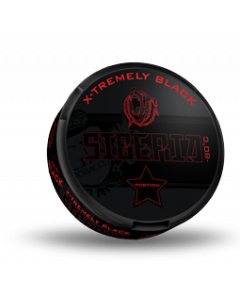 Siberia X-tremely Black Portion Snus