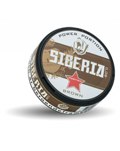 Siberia Brown Portion Snus