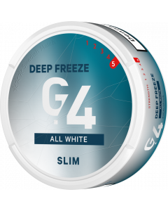 G.4 DEEP FREEZE Slim All White