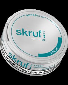 Skruf Super Slim Fresh White