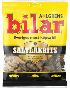 Ahlgrens bilar Salty Licorice 100g