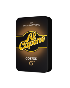 Al Capone Coffee White Mini