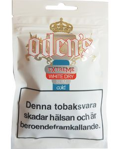 Odens Cold Extreme White Dry Slim 13g Soft pack