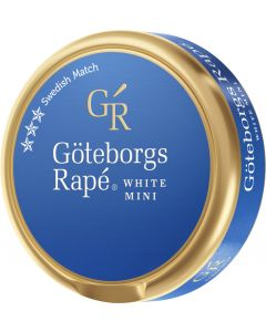 Göteborgs Rapé White Mini