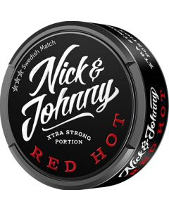 Nick and Johnny Red Hot Xtra Strong