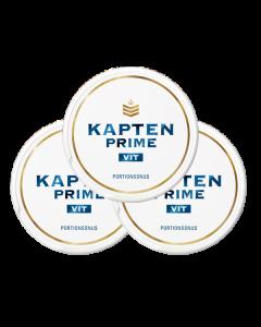 Kapten Prime White 3-pack