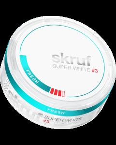 Skruf Super White Slim Fresh Strong