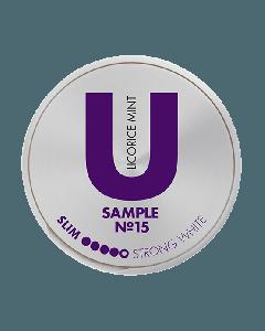 U Sample Licorice Mint No.15