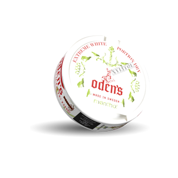 Odens Menthol Xylitol Extreme White Dry
