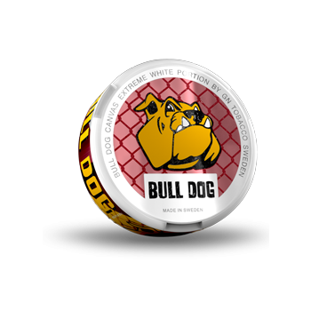 Bull Dog Canvas Extreme White