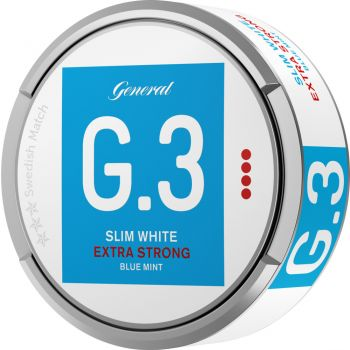 General G.3 Mint Extra Strong White Slim