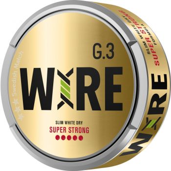 General G.3 WIRE Super Strong White Dry Slim