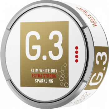G.3 Sparkling Extra Strong Slim White Dry