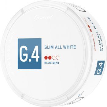 General G.4 Blue Mint Slim All White