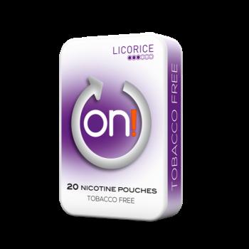 on! Licorice 3mg