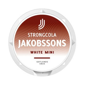 Jakobssons Cola Strong Mini White