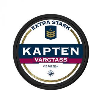 Kapten White Extra Strong Vargtass