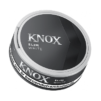Knox White Slim