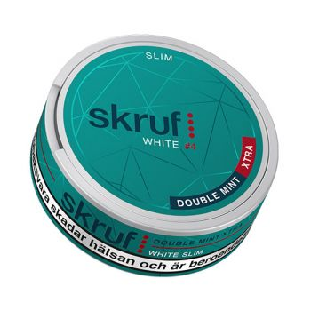 Skruf Slim Double Mint Xtra #4