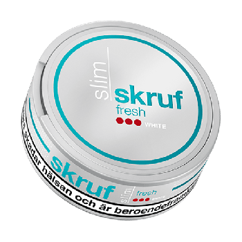 Skruf Slim Fresh Strong White