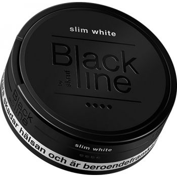 Skruf Blackline Xtra Strong White Slim