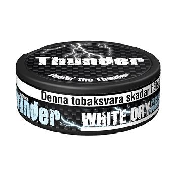 Thunder Frosted White Dry