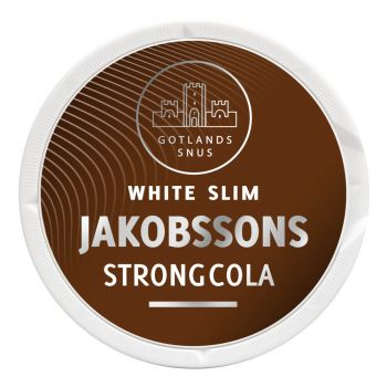 Jakobssons Strong Cola White Slim