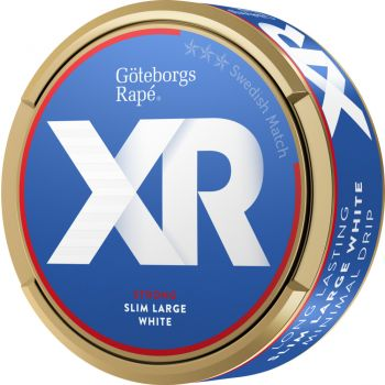 Göteborgs Rapé Xrange Strong White