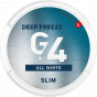 G.4 DEEP FREEZE Slim All White