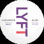 LYFT Liquorice Strong Slim