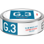 G.3 Blue Mint Slim White Dry Extra Strong