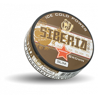 Siberia Brown Slim Portion Snus
