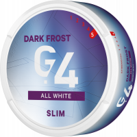 G.4 DARK FROST Slim All White