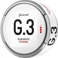 General G.3 White Strong Slim