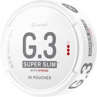 General G.3 Super Slim Strong White