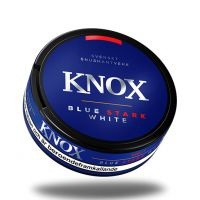 Knox Blue Stark White