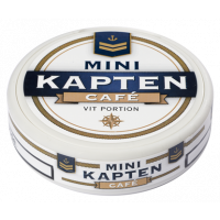 Kapten Café White Mini