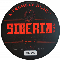 Siberia Black White Dry Slim