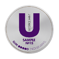 U Sample Licorice Mint No.15