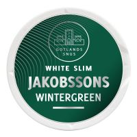 Jakobssons Wintergreen White Slim