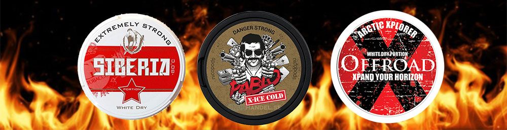 Strongest snus and nicotine poches?